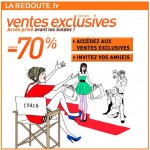 Vente exclusive La Redoute sur Facebook