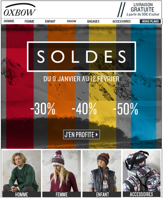 Oxbow soldes 2013